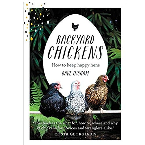 book image : backyard chickens how to keep happy hens